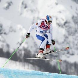 Сборная России по ски-кроссу на Сахалине