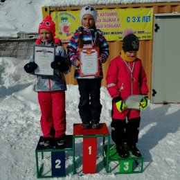 В Холмске прошли соревнования по горнолыжному спорту, посвященные Дню защитника Отечества