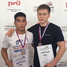 Островные борцы завоевали две медали Всероссийского первенства в Брянске