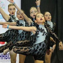 Сахалинские черлидеры завоевали множество наград Дальневосточных соревнований
