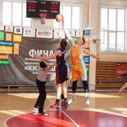 В Южно-Сахалинске определились победители первенства города по баскетболу среди учащихся 7-9 классов