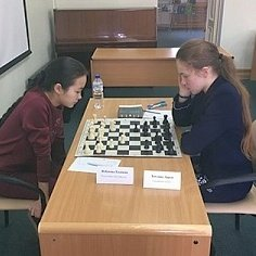 Дарья Хохлова выиграла чемпионат ДФО по шахматам среди женщин