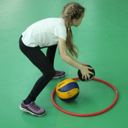 Для спортсменов из школьных клубов устроили «Веселые старты»