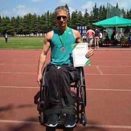 Михаил Тутенько завоевал бронзовую медаль всероссийских соревнований