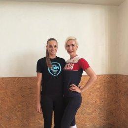 Волейболистка «Сахалина» провела мастер-класс в родном городе