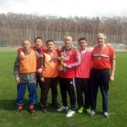 «Восток» из островной столицы выиграл футбольный турнир ветеранов
