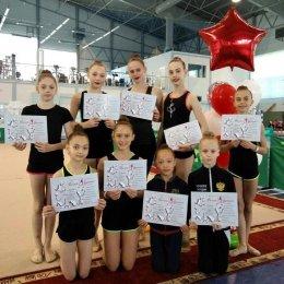 Сахалинские гимнастки провели учебно-тренировочные сборы в Крыму