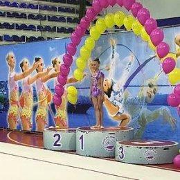 Дарья Парфентьева заняла второе место на чемпионате ДФО по художественной гимнастике