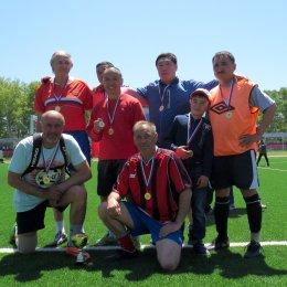 «Восток» выиграл турнир ветеранов островного футбола