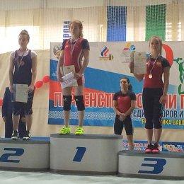 Анастасия Корчагина – бронзовый призер первенства России