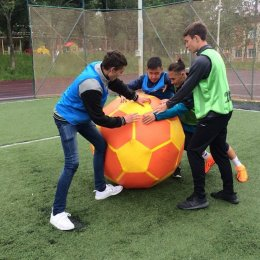 В Южно-Сахалинске прошла акция «Страна, живи футболом!»