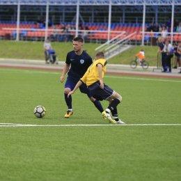 «Сахалин-М» одержал первую победу в чемпионате области