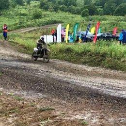 В селе Горнозаводск прошло открытое лично-командное первенство Невельского района по мотокроссу