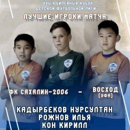 «Сахалин-2006» нанес поражение уфимскому «Восходу»