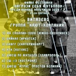 Островная команда примет участие в финале Фестиваля «Загрузи себя футболом»