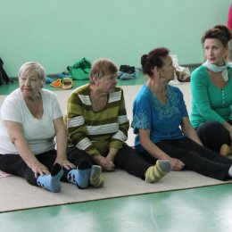 В ОГАУ «СШ «Сахалин» поздравили самых активных участников проекта «Сахалинское долголетие»