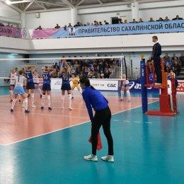 «Сахалин» практически гарантировал себе выход в полуфинал