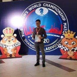 Константин Сек занял третье место на этапе Гран-При России по быстрым шахматам