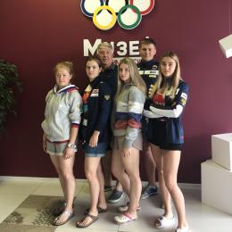 Анна Шухова готовится к сезону в юниорской сборной России