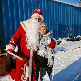 Дедушка Мороз ждал участников «Рождественской гонки» с подарками