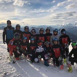 Островные горнолыжники примут участие во всероссийских соревнованиях