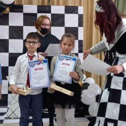 Ферзь и король пришли в гости к участникам детского Фестиваля