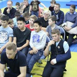 Сахалинским спортсменам рассказали о проекте «Семья дзюдо»