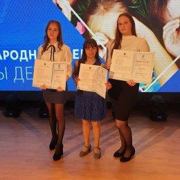 В Невельске наградили талантливых спортсменок