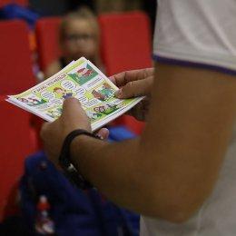 Юные гимнастки отработали свои действия в случае экстренной эвакуации
