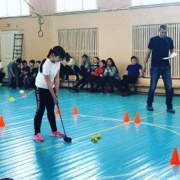 Сахалинские школьники сыграли в гольф