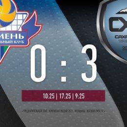 «Сахалин» завершил тур победой