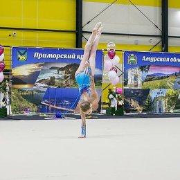 В Южно-Сахалинске началось первенство ДФО по художественной гимнастике