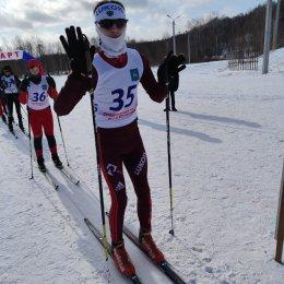 В Смирных состоялись соревнования по лыжным гонкам
