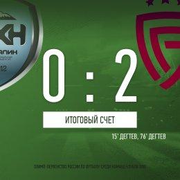 «Сахалин» потерпел первое домашнее поражение в сезоне