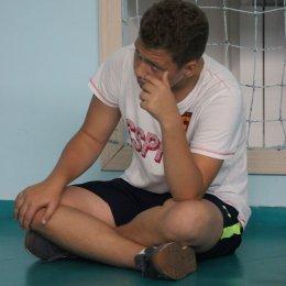 Юные волейболисты сдали свой первый экзамен