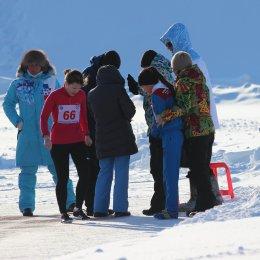 Спортсмены из семи населенных пунктов приняли участие в зимних соревнованиях по легкой атлетике