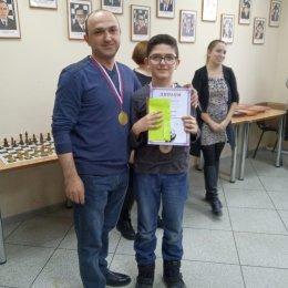 Семейная команда Мовсесянов стала победителем шахматного турнира
