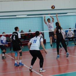 Участники волейбольного турнира в рамках Спартакиады Минспорта определили трех полуфиналистов