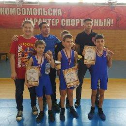 Островные борцы успешно выступили на дальневосточном Фестивале в Комсомольске-на-Амуре