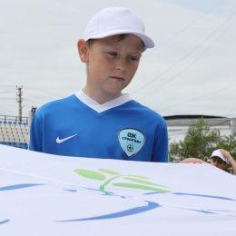 Островные футболисты присоединились к Всероссийским акциям в преддверии парада Победы