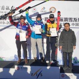Алексей Жилин стал победителем этапа Кубка Азии