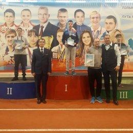 Илья Данилюк завоевал серебряную медаль всероссийских соревнований