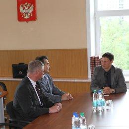 Олег Саитов встретился с участниками Международного молодежного форума дзюдо