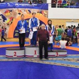 Анастасия Парохина стала победительницей открытого всероссийского турнира по спортивной борьбе