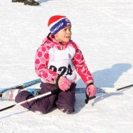 Дошкольники Анивского района выявили самых быстрых в лыжных гонках