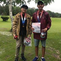Сахалинские гольфисты завоевали две медали и приз в Приморье