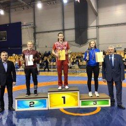 Анастасия Парохина стала победительницей международного турнира по женской борьбе