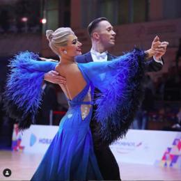 Евгений Мошенин и Дана Спицына завоевали бронзовые награды международной серии «Grand Slam»