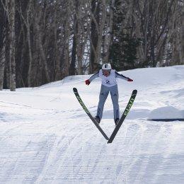 Сахалинские прыгуны с трамплина заняли 5-е место на первенстве России