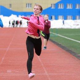 Карина Глебова установила рекорд в беге на 100 метров